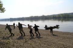 The River Danube – fishery in cooperation with fellow workers of the Slovak Angling Association
